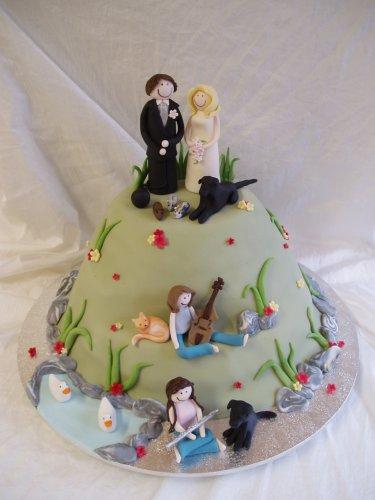 Свадебный торт 056